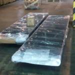 упакованная строка для отправки транспортной компанией