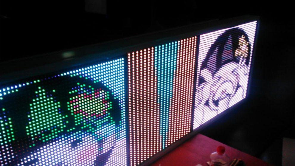 Светодиодный экран из CMD