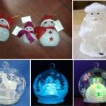 украшение новогодние,светодиодные украшения,светодиодные игрушки,светодиодные гирлянды,