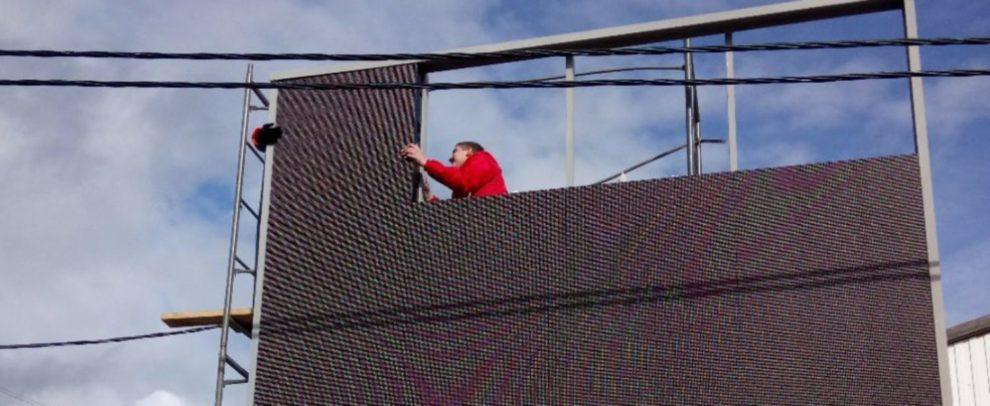 бегущие строки и вывески красноярск