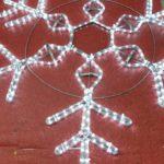 снежинки светодиодные,снежинки световые,световые фигуры,